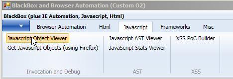 O2 Script: Util – Javascript Object viewer « OWASP O2